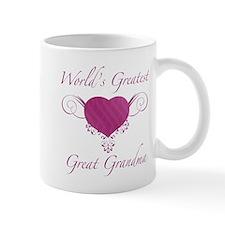 World's Greatest Great Grandma (Heart) Mug
