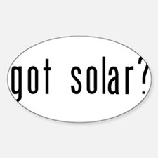 got solar? Decal
