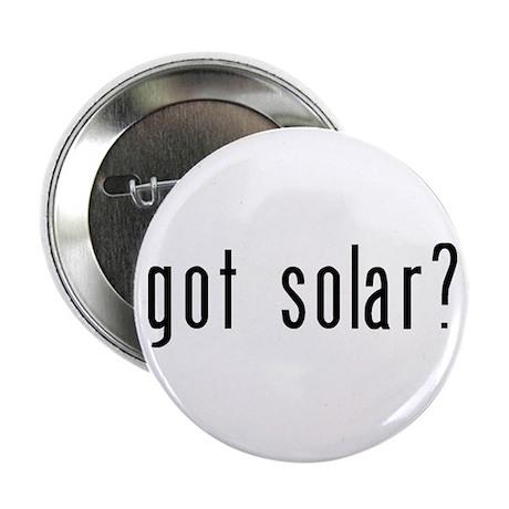 """got solar? 2.25"""" Button (100 pack)"""
