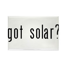 got solar? Rectangle Magnet