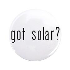 """got solar? 3.5"""" Button (100 pack)"""