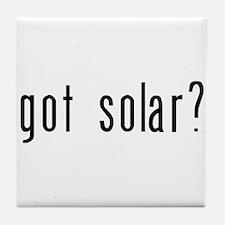 got solar? Tile Coaster