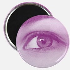 Purple eye - Lore M's art - Magnet