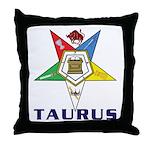 OES Taurus Throw Pillow