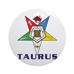 OES Taurus Ornament (Round)