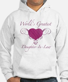 World's Greatest Daughter-In-Law (Heart) Hoodie