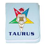 OES Taurus Sign baby blanket