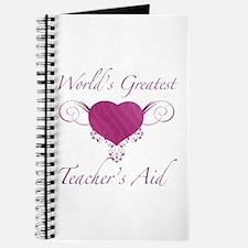 World's Greatest Teacher's Aid (Heart) Journal