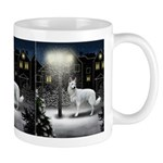 White German Shepherd Dog Mug