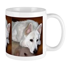 White German Shepherd Dog Mug
