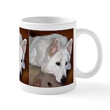 White German Shepherd Dog Small Mug