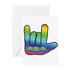 I Love Mom Big Hand Greeting Card