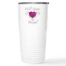 World's Greatest Principal (Heart) Travel Mug