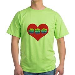 Mom Inside Big Heart T-Shirt