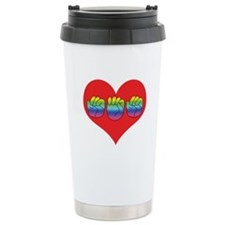 Mom Inside Big Heart Travel Mug