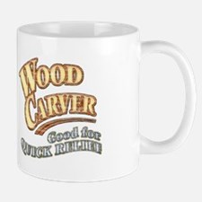 """Wood Carver""  Mug"