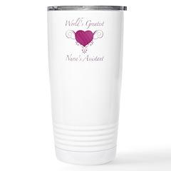 World's Greatest Nurse's Assistant (Heart) Stainle