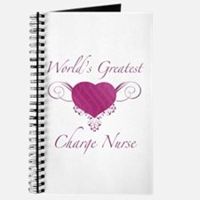 World's Greatest Charge Nurse (Heart) Journal