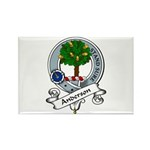 Anderson Clan Badge Rectangle Magnet (10 pack)