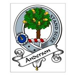 Anderson Clan Badge Small Poster