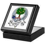 Anderson Clan Badge Keepsake Box