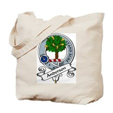 Anderson Clan Badge Tote Bag