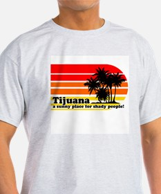 Tijuana Ash Grey T-Shirt