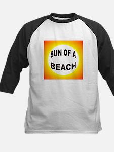 LOVE THE BEACH Kids Baseball Jersey
