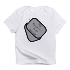 My Grandson is an Airman dog Infant T-Shirt