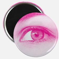 Pink eye - Lore M's art - Magnet