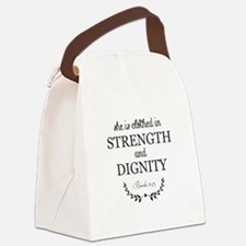 Proverbs 3125 Canvas Lunch Bag