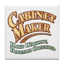 """Cabinetmaker"" Tile Coaster"