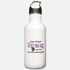 Navy Iraq was hot Water Bottle