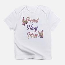 Proud Navy Mom Infant T-Shirt