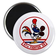 """67th Fighter Squadron 2.25"""" Magnet (10 pack)"""