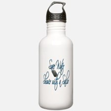 Shower with a Sailor Water Bottle