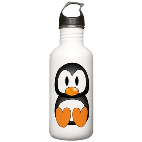 Cute Penguin Stainless Water Bottle 1.0L