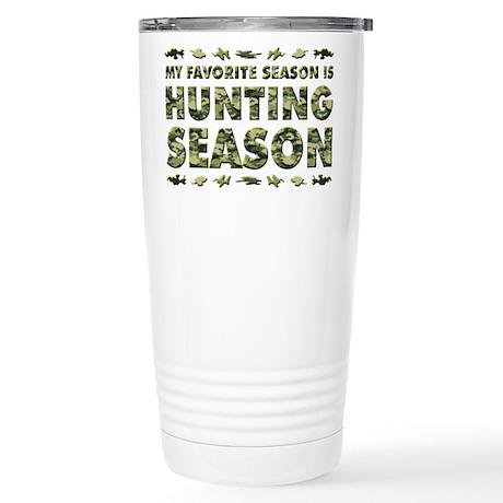 HUNTING SEASON Stainless Steel Travel Mug