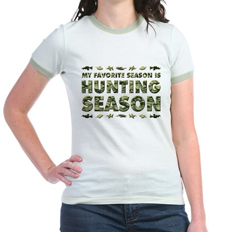 HUNTING SEASON Jr. Ringer T-Shirt