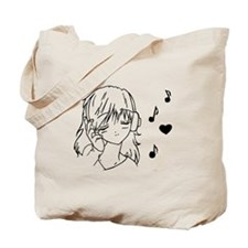 Cute Manga Tote Bag