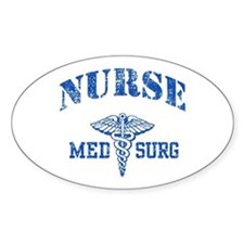 Med Surg Nurse Decal