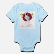 african grey parrot holiday Infant Bodysuit