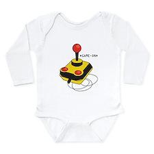 Game On Long Sleeve Infant Bodysuit