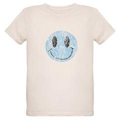 Vintage Blue Smiley 1 T-Shirt