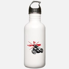 UNION JACK CAFE RACER Water Bottle