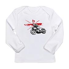 UNION JACK CAFE RACER Long Sleeve Infant T-Shirt