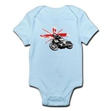 UNION JACK CAFE RACER Infant Bodysuit
