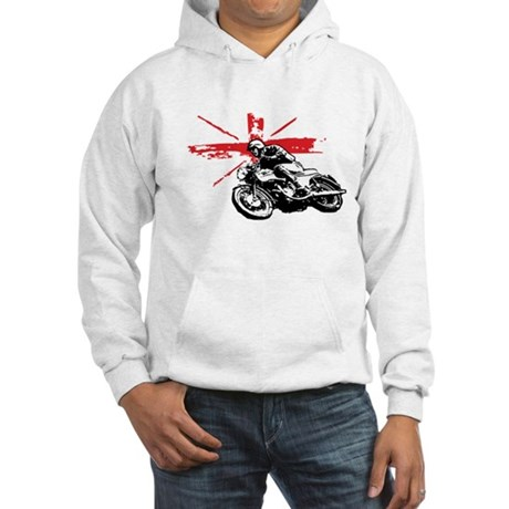 UNION JACK CAFE RACER Hooded Sweatshirt