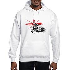 UNION JACK CAFE RACER Jumper Hoody