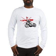 UNION JACK CAFE RACER Long Sleeve T-Shirt